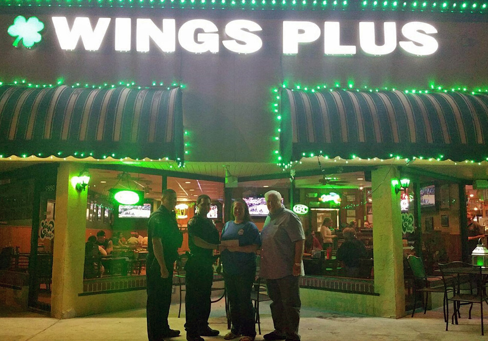 Wings Plus Sponsor Photo