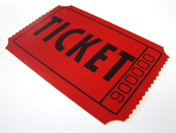 Cake Raffle Clipart : Raffle Tickets   Team South Florida